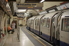Underground London Royalty Free Stock Photos