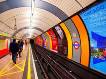 The Underground in London Stock Image