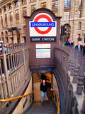 The Underground in London Royalty Free Stock Images