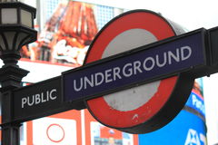 Underground in London, United Kingdom Royalty Free Stock Photos