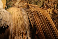 Underground Luray caverns formations royalty free stock photography