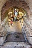 Underground market split. Underground market on split, croatia stock images