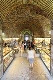 Underground market split. Underground market in split, croatia royalty free stock image