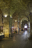 Underground market split. In croatia royalty free stock image