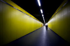 Underground in milan Stock Images