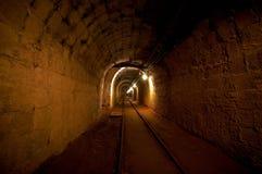 Underground mine passage Stock Image