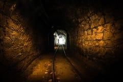 Underground mine passage Royalty Free Stock Photography