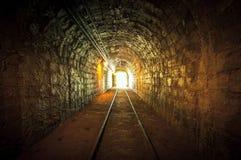 Underground mine passage Stock Photo