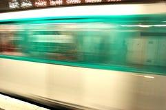 Underground motion Stock Image