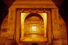 underground palace Stock Photo