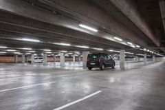 An underground garage Royalty Free Stock Images