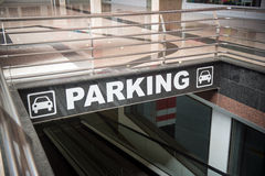 Underground Parking Royalty Free Stock Photos