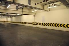Underground parking garage. An empty underground parking garage Stock Photography