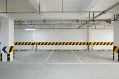 Underground parking garage Royalty Free Stock Photography