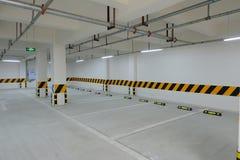 Underground parking garage Royalty Free Stock Photos