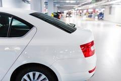 Underground parking/garage Stock Photos