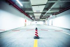 Underground parking garage. In Beijing Royalty Free Stock Image