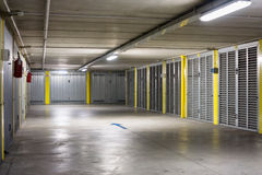Underground parking garage Royalty Free Stock Photo