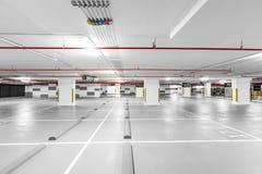 Underground Parking Garage. For car Royalty Free Stock Photos