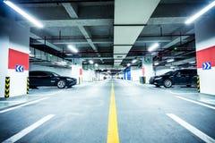 Underground parking garage. In China Stock Image