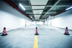 Underground parking garage. In China Stock Images
