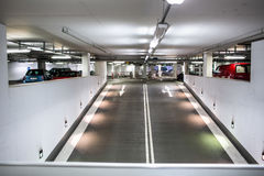 Underground parking/garage Royalty Free Stock Photography