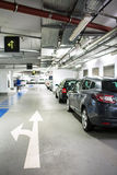 Underground parking/garage Royalty Free Stock Images