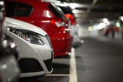 Underground parking/garage Stock Photo