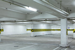 Underground parking lot Stock Photography