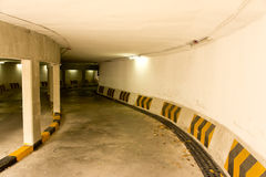 Underground Parking Lot Royalty Free Stock Image