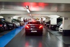 Underground parking Royalty Free Stock Photo