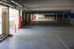 Underground parking Stock Photography
