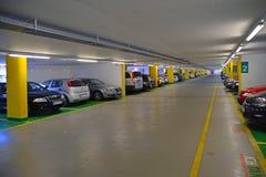 Underground parking Stock Photos