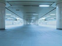 Underground passage Stock Images