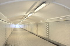 Underground passage Royalty Free Stock Photos