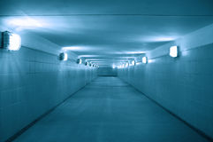 Underground passage Royalty Free Stock Photography