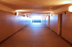 Underground passage royalty free stock photography