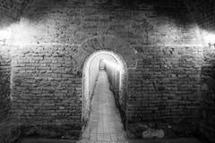 Underground passage Alba Carolina fortress Royalty Free Stock Photo