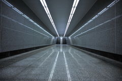 Underground passage Royalty Free Stock Photos