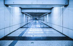Underground passage Royalty Free Stock Images