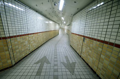 Underground passage in Osaka Royalty Free Stock Image