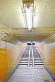 Underground passage. In Osaka moriguchi Stock Photos