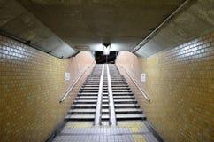 Underground passage. In Osaka moriguchi Royalty Free Stock Images