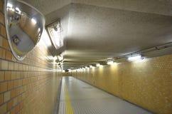 Underground passage. In Osaka moriguchi Royalty Free Stock Photography