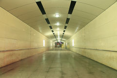 Underground passage Stock Images