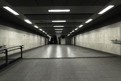 Underground passage. Under the railway station in the Centre of Krakow Royalty Free Stock Image