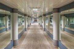 Underground pedestrian passage in Monte Carlo. Stock Images