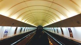 Underground. In Prague Royalty Free Stock Photos