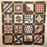 Underground Railroad Quilt Royalty Free Stock Photography