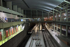 Underground railway station. In Castellon de la Plana, Spain Royalty Free Stock Photography